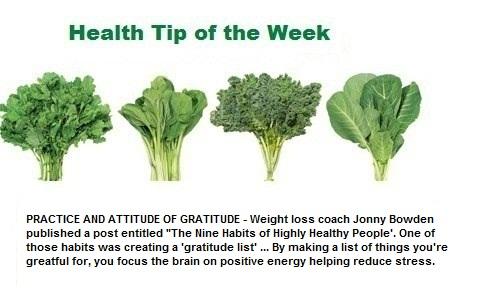 Weekly Health Tip Feb 13