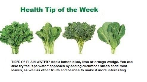 Weekly Health Tip Feb 20