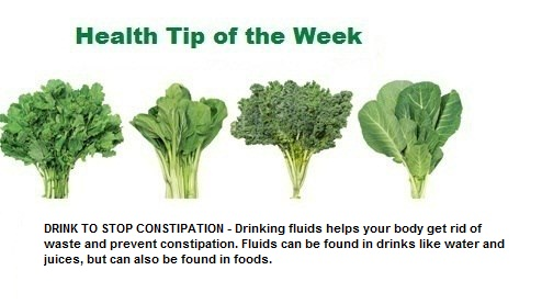Weekly Health Tip Feb 27