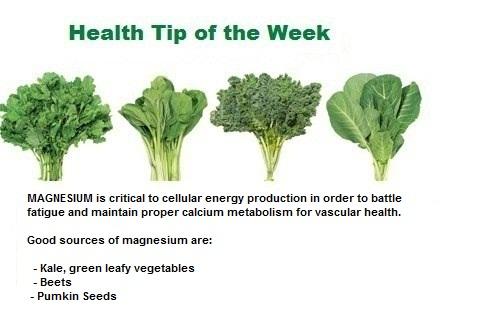 Weekly Health Tip Jan 31