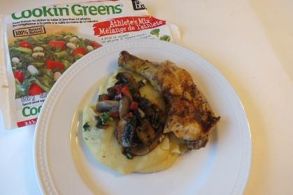 chicken polenta mushrooms greens 016 (3)