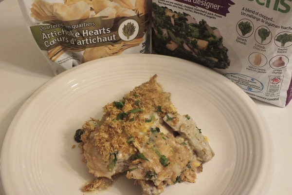 Cookin' Greens Creamy Mediterranean Smothered Chicken with Artichoke Hearts