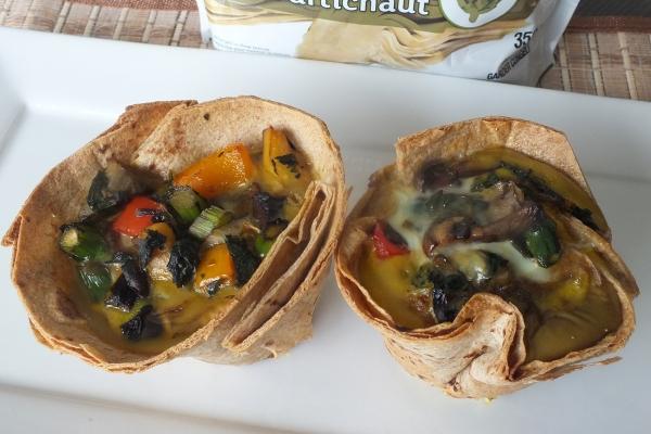 Egg & Artichoke Hearts Mega Muffin